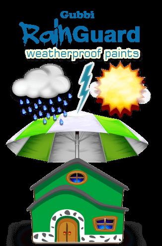 Gubbi Rainguard Weather-proof Paint
